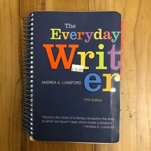 The Everyday Writer 5th edition